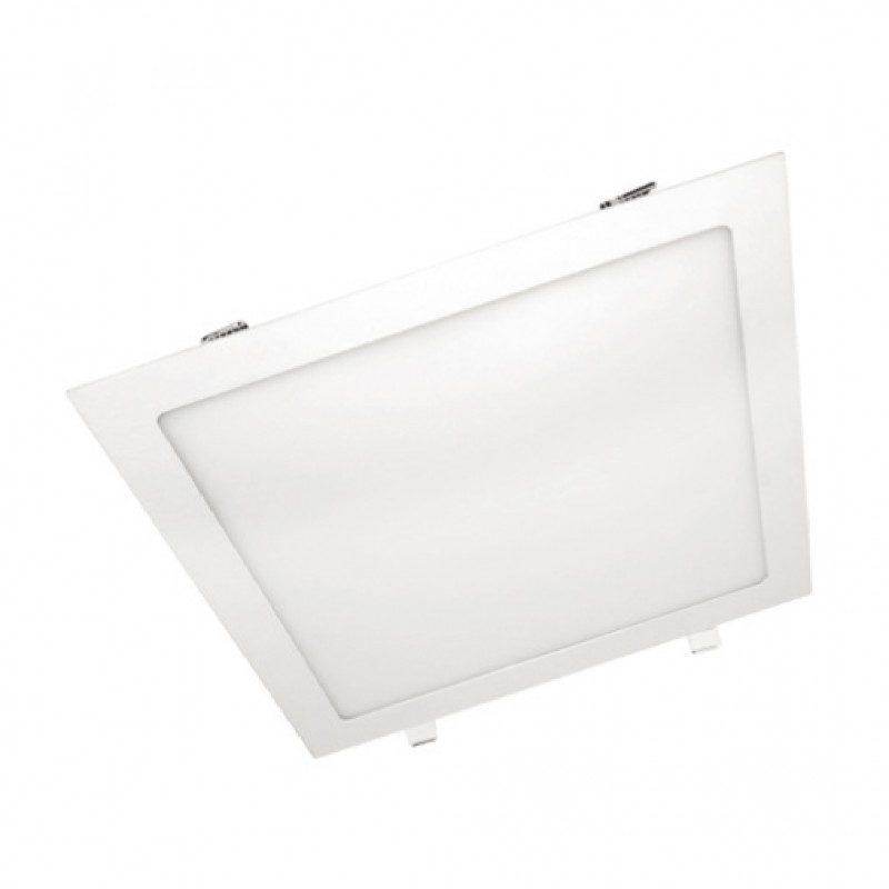 LED модул за вграждане 20w, 6000k, 1480lm, 225 х 225 х 20 мм, Бял, 41449